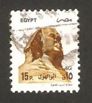 Stamps : Africa : Egypt :  gran esfinge de guiza