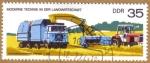 Sellos de Europa - Alemania -  Agricultura Maquinaria