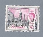 Stamps America - Bermuda -  Reina Isabel II
