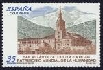 Sellos de Europa - Espa�a -  ESPA�A - Monasterios de San Mill�n de Yuso y de Suso