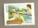 Stamps France -  Boy scouts