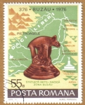 Stamps Europe - Romania -  BUZAU 1976