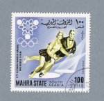 Stamps Saudi Arabia -  X th Olympic Winter Games Grendoble 1968