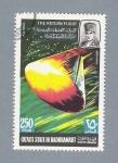 Sellos de Asia - Arabia Saudita -  Serie espacial