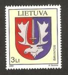 Sellos del Mundo : Europa : Lituania : escudo de armas de sirvintos