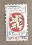 Stamps Europe - Czech Republic -  175 Aniv. himno checo