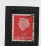 Stamps Netherlands -  koningin juliana