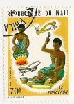 Stamps Africa - Mali -  Le Forgeron