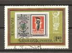Stamps Hungary -  Exposicion Internacional de Filatelia. (IBRA 73).