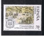 Sellos de Europa - España -  Edifil  3649  IV  Cent. de la Defensa de las Palmas de Gran Canaria.