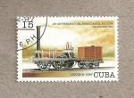 Stamps Cuba -  180 Aniv. de Ferrocarril en Cuba