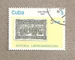 Stamps Cuba -  Historia Latinoamericana