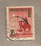 Stamps Cuba -  Navidad 1956-57