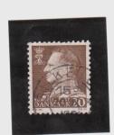 Stamps Europe - Denmark -  federico IX