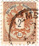 Stamps Europe - Poland -  1883 2k Lemberg