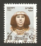 Stamps Egypt -  nofret