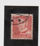 Stamps Denmark -  federico IX
