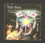 Sellos de Asia - Vietnam -  una cometa