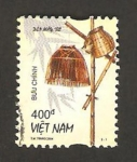 Sellos de Asia - Vietnam -  lámpara de bambú