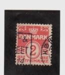 Sellos de Europa - Dinamarca -  correo postal