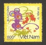 Sellos de Asia - Vietnam -  conmemoración del año lunar