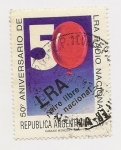 Stamps Argentina -  50° Aniversario de la Radio Nacional