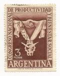 Stamps Argentina -  Congreso Nacional de Productividad y Bienestar Social