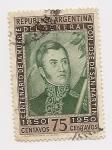 Stamps : America : Argentina :  Centenario de la Muerte del General Don José de San Martín