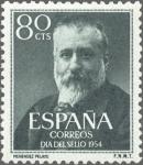 Stamps Spain -  MARCELINO MENENDEZ Y PELAYO