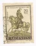 Stamps Argentina -  Batalla de Chacabuco