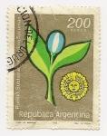 Stamps Argentina -  Pueblo Subteniente Berdina Tucumán