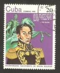 Stamps Cuba -  II centº del nacimiento de simón bolívar