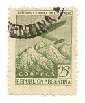 Stamps Argentina -  Lineas Aereas del Estado