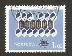 Stamps Portugal -  Europa cept