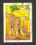 Stamps France -  fauna y flora, jirafa