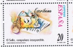 Sellos del Mundo : Europa : España : Edifil  3668  Correspondencia Epistolar Escolar.  El sello, compañero inseparable.