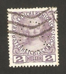 Stamps Austria -  102 - Marie Therese