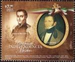 Sellos de America - México -  Bicentenario de la Independecia de Mexico