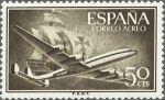 Stamps Spain -  super constellation y nao
