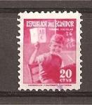 Stamps Ecuador -  A Favor de la Enseñanza.