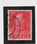 Sellos del Mundo : Europa : Noruega : rey olaf  V