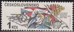 Sellos de Europa - Checoslovaquia -  CHECOSLOVAQUIA 1985 Scott 2558 Sello Nuevo Aniv. Levantamiento Mayo 1945 Ceskolovensko Czechoslovaki