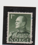 Stamps Europe - Norway -  Rey Olaf  V
