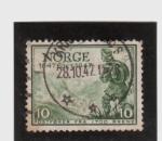 Sellos del Mundo : Europa : Noruega : 300 aniv. del servicio postal noruego