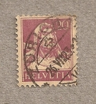 Stamps Switzerland -  Guillermo Tell