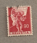Stamps Switzerland -  Portaestandarte
