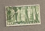 Stamps Switzerland -  Ciudadanos votando