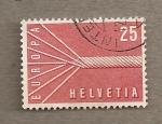 Stamps Switzerland -  Símbolo UE