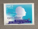 Sellos de Europa - Francia -  Asociación de alcaldes de Francia