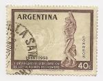 Stamps Argentina -  X Aniversario de la Declaración del los Derechos del Hombre